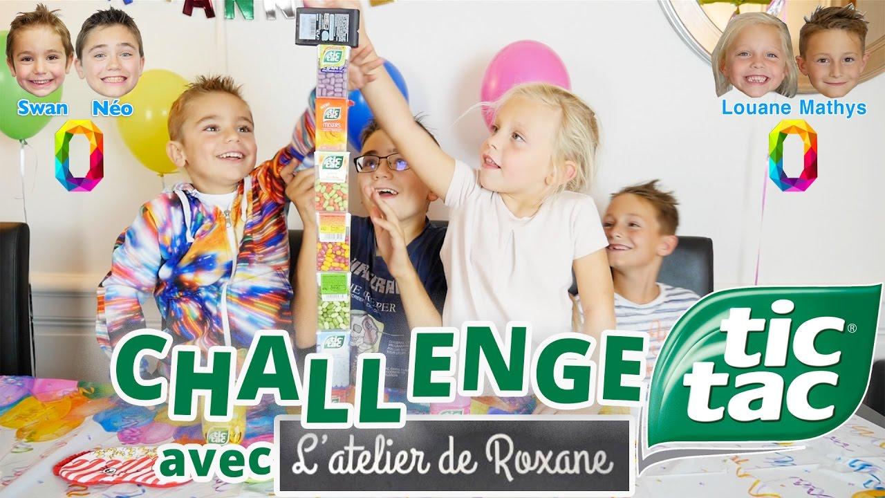 Challenge Tic Tac Swan Néo Vs Louane Mathys De Latelier De Roxane