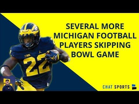 5+ Michigan Football Players To Sit Out Bowl Game Vs. Florida - Latest Michigan Football Rumors