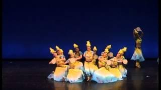 第四十八屆校際舞蹈節 天山鈴鼓