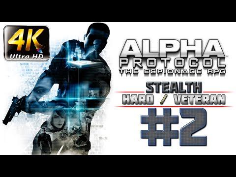 Alpha Protocol Walkthrough (4k PC) HARD / VETERAN - Part 2 - Graybox