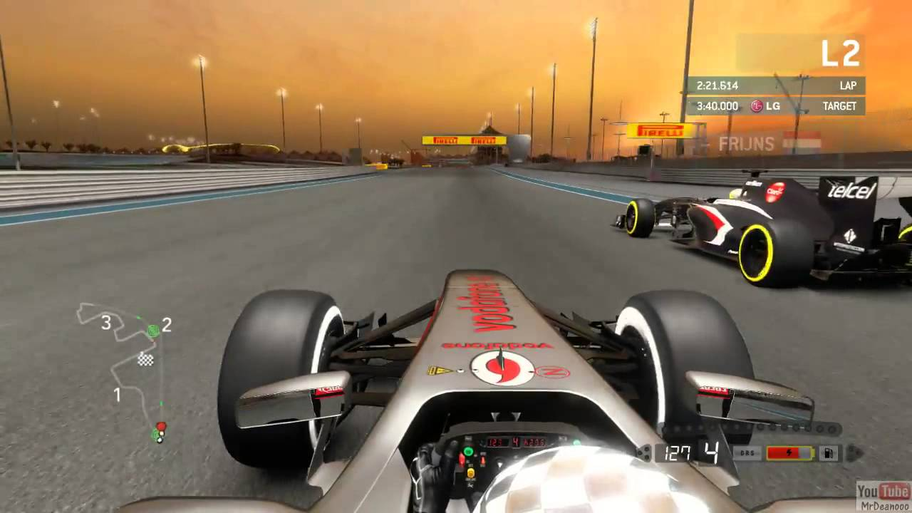 F1 2013 young driver test | federation internationale de l.