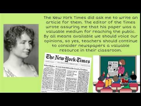 Interview with Helen Keller