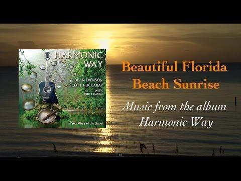 Florida Sunrise Over Ocean -  Music is