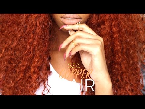 COLOR SERIES | ORANGE/GINGER/COPPER SZA INSPIRED HAIR FT. VIPBEAUTY