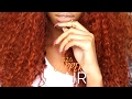 COLOR SERIES | DIY ORANGE/GINGER/COPPER HAIR COLOR SZA INSPIRED FT. VIPBEAUTY | LooksByDesi