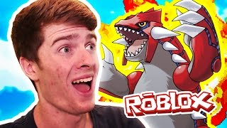 GROUDON & KYOGRE! / Pokemon Legends / Roblox Adventures