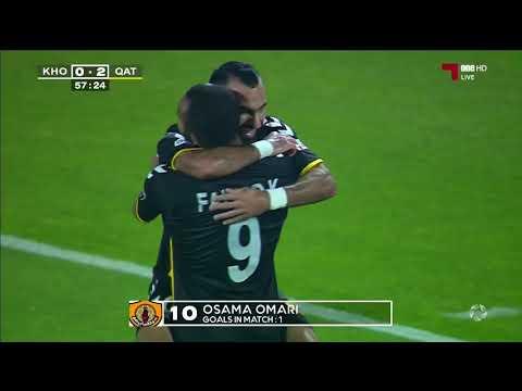 دوري نجوم QNB اهداف المباراة : قطر 2 - 0 الخور