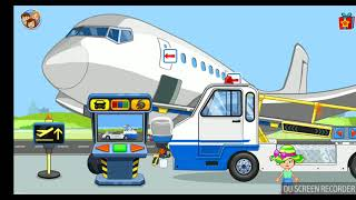 My Town Airport game play