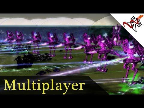 Supreme Commander FAF - 4vs4 Never Ending Artillery War   Multiplayer Gameplay