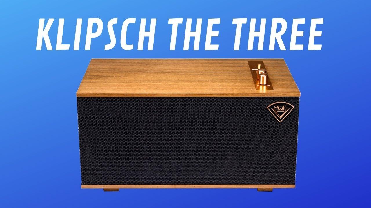 Klipsch The Three Wireless Powered Speaker - Quick Look India