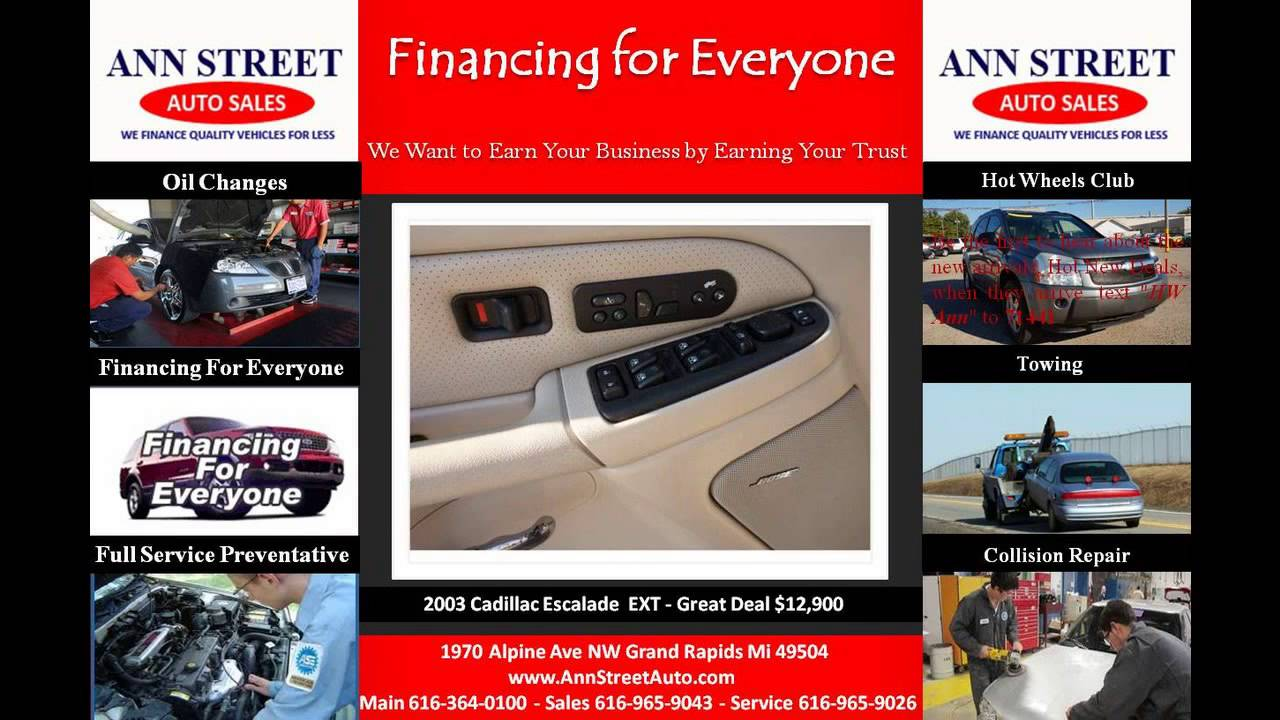 cheap used 2003 cadillac escalade ext car for sale grand rapids mi youtube. Black Bedroom Furniture Sets. Home Design Ideas