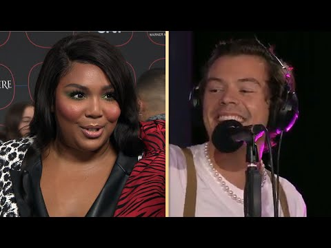 Lizzo REACTS to Harry Styles' Juice Cover!