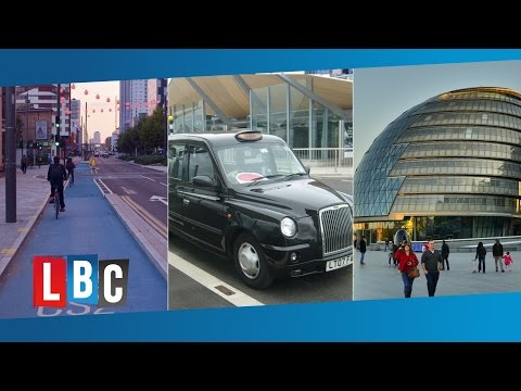 LBC London Mayoral Debate - Cycle Superhighways and Black Cabs (Part 2)
