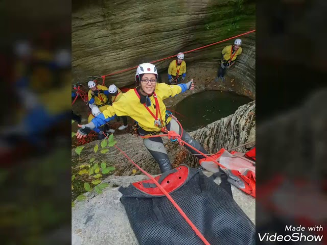 Canyoning Beginners Course