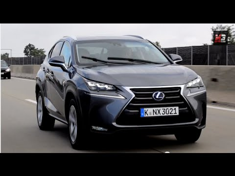 lexus nx 300h hybrid 2015 - first test drive only sound - youtube