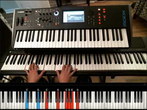 Thank You Lord- Israel Houghton Piano Tutorial