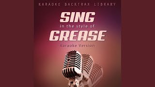 Beauty school dropout (originally made popular by grease) (karaoke version)