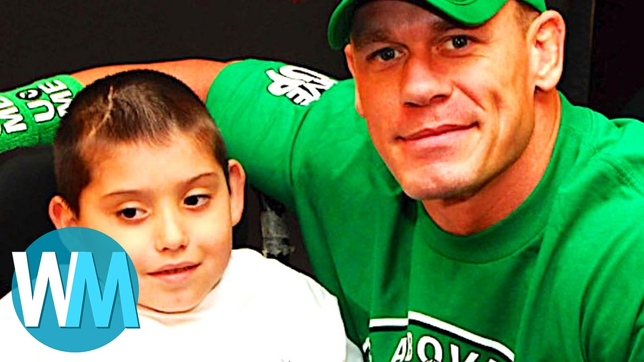Top 10 Awesome Celebrity Acts of Kindness ...