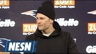Tom Brady AFC Divisional round Patriots vs. Chargers postgame press conference