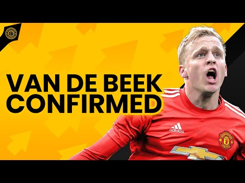 Donny van de Beek To Manchester United! Officially Confirmed