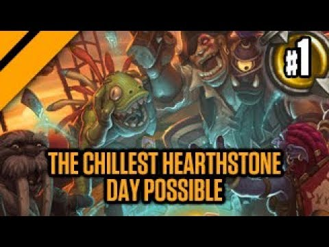 The chillest Hearthstone day possible P1