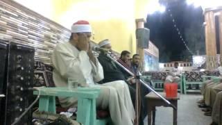 الشيخ اشرف الهوي يفجر الاسلحة النوويه في مضيفة اولاد عسكر وربع الختام في قمة الروعه