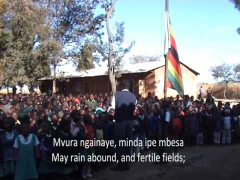 Zimbabwe National Anthem by School Children - #ThisFlag