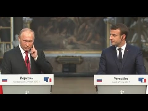 "Putin Slams Dumbass Question from French Journo on ""Russian Hackers"""