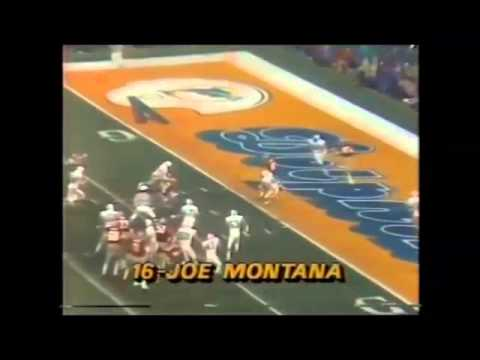 Super Bowl XIX - Every Montana Play