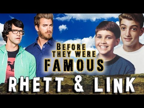 RHETT & LINK - Before They Were Famous