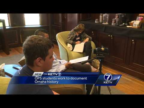 OPS students work to document Omaha history
