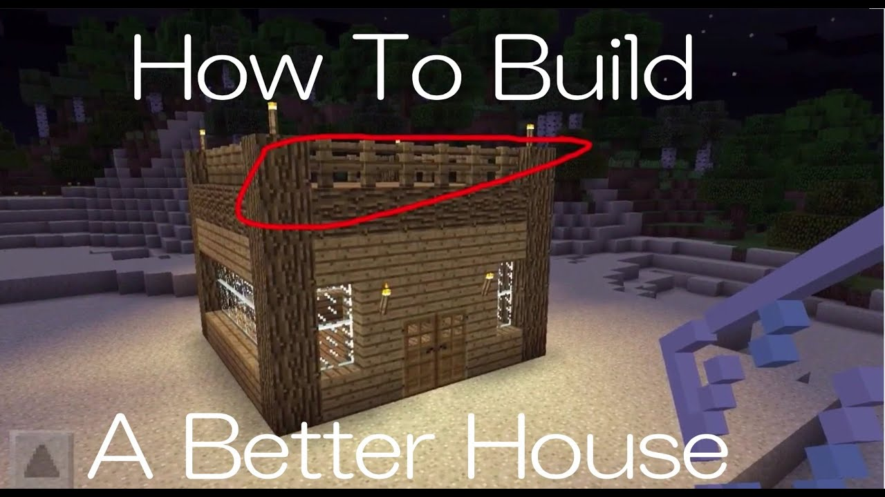 5 ways to improve your minecraft pe house - youtube