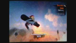 Stoked ( XBOX 360 gameplay ) freestyle shred session