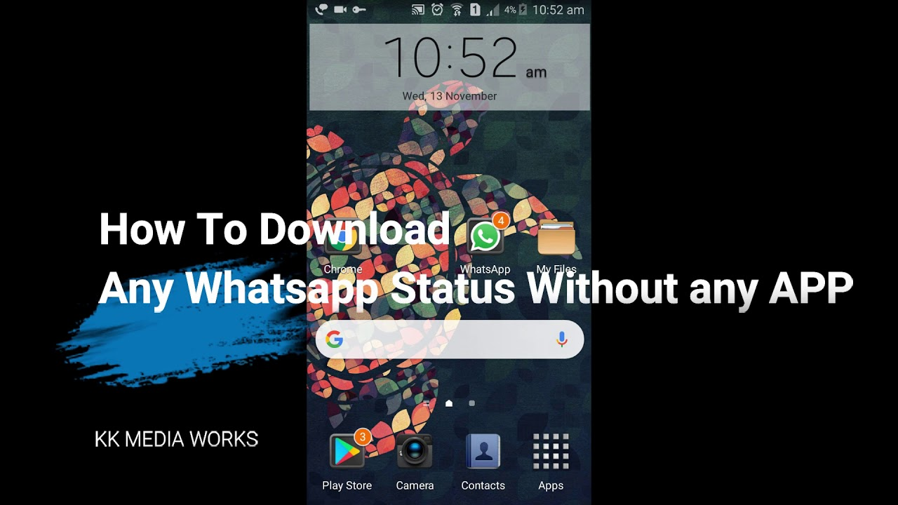 How To Copy Whatsapp Status Without Any App
