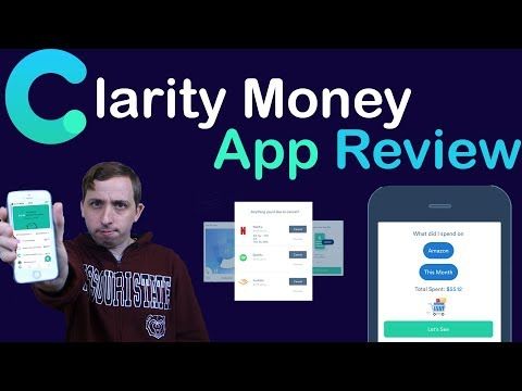 Clarity Money App Review — BEST FINANCE AND BANKING APP?