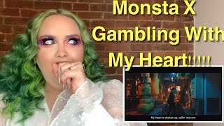 MONSTA X 몬스타엑스 'GAMBLER' MV REACTION l GET KOOKED