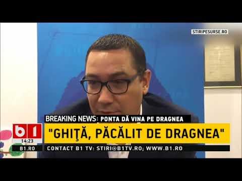 Victor Ponta, acuzații grave: Liviu Dragnea i-a spus lui Sebastian Ghiță că ...