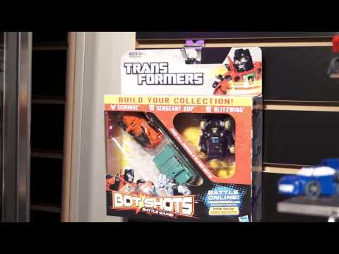 Toy Fair 2013 Transformers Bot Shots