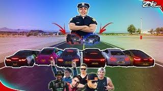 FUGA DOS YOUTUBERS!! Quem Conseguiu Escapar Da Policia?? - Forza Horizon 4