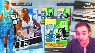 NBA 2K17 My Team BEST THROWBACK DIAMOND IS COMING! NEW TBT PACKS!