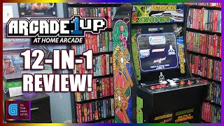 Arcade1Up 12-in-1 Atari Deluxe Review Arcade 1UP Gameplay -Console Consultation- G to The Next Level