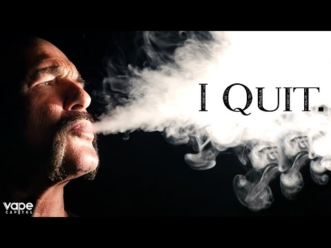 'I Quit.' - Tobacco vs. Vape Documentary Series Episode #1 - Dave Brunner