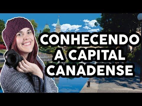 CONHECENDO A CAPITAL CANADENSE   OTTAWA   VIAGEM PELO CANADÁ #6   KITTY NO CANADÁ