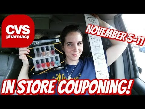 CVS IN STORE COUPONING 11/5/17-11/11/17! HOT COSMETIC DEALS & FREEBIES GALORE!