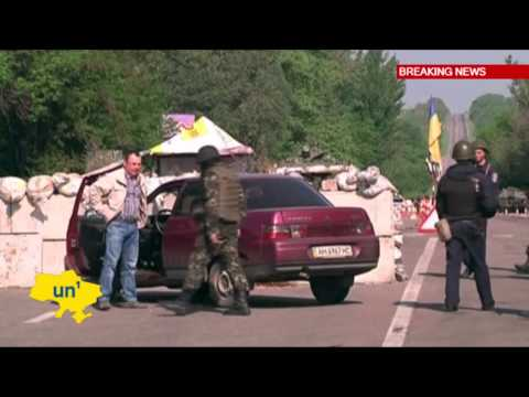 Russian Insurgency in East Ukraine: Uneasy calm on streets of rebel stronghold Slovyansk