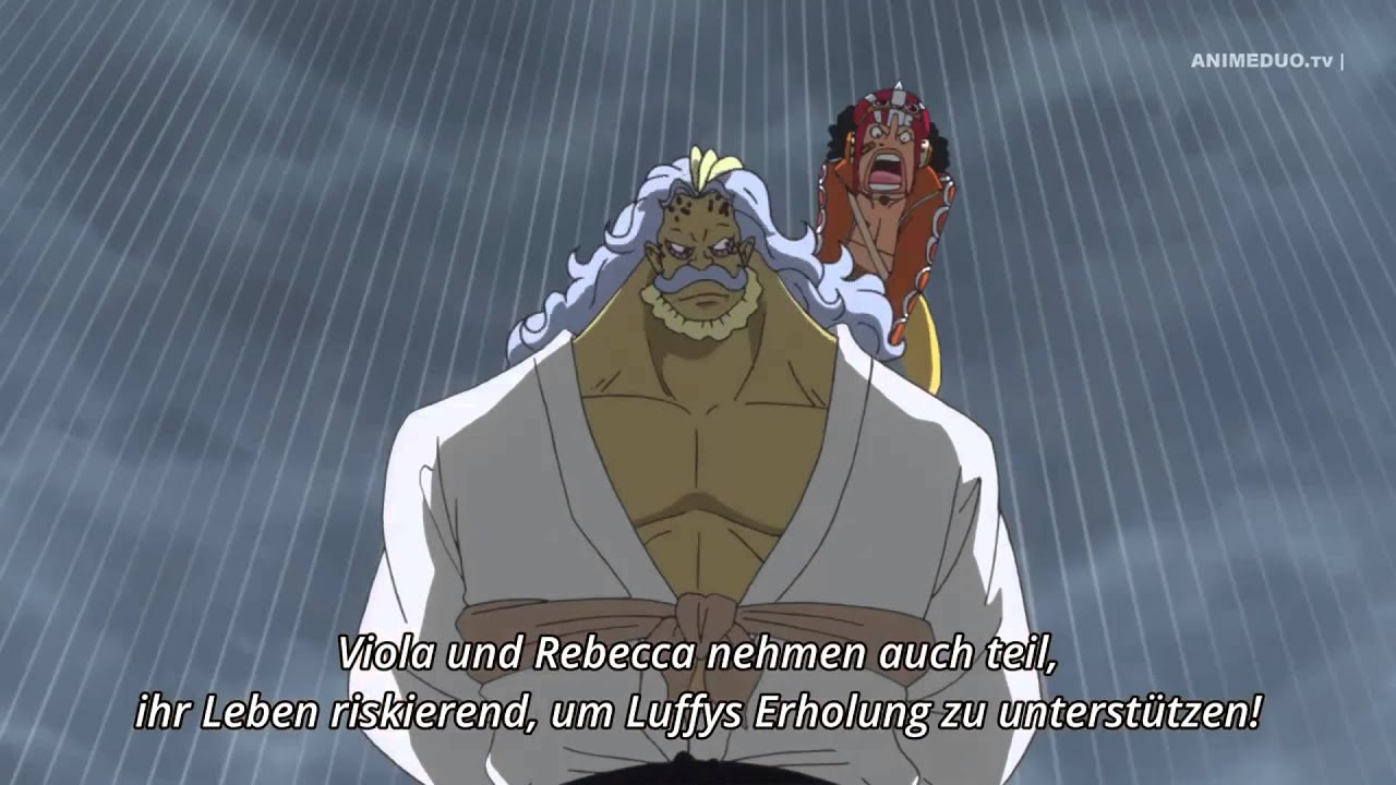 One Piece 731 Preview Ger Sub - YouTube