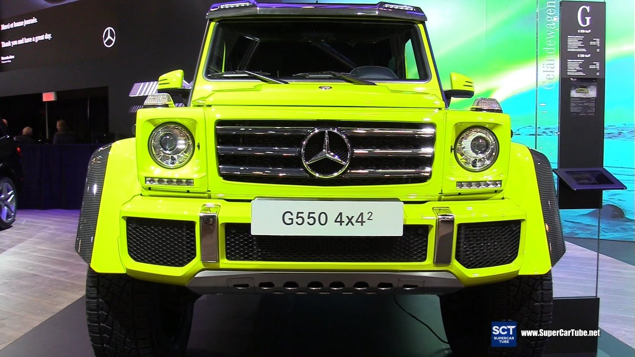 2017 Mercedes Benz G Class G550 4X4   Exterior And Interior Walkaround    2017 Montreal Auto Show   YouTube