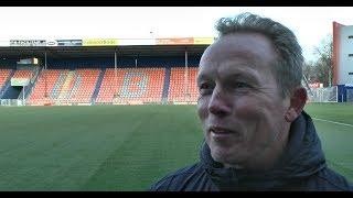 Wil Boessen blikt vooruit op RKC Waalwijk - FC Den Bosch
