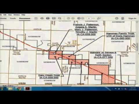 Dakota Access Bakken Pipeline IUB meeting 2/10/16 discussing the route #nobakken