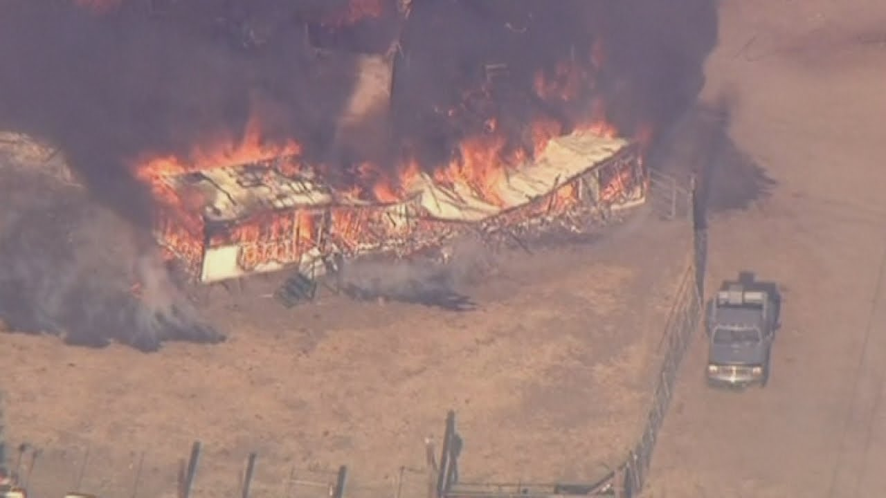 2 Firefighters Seriously Hurt In Growing Silverado Fire, SoCal ...